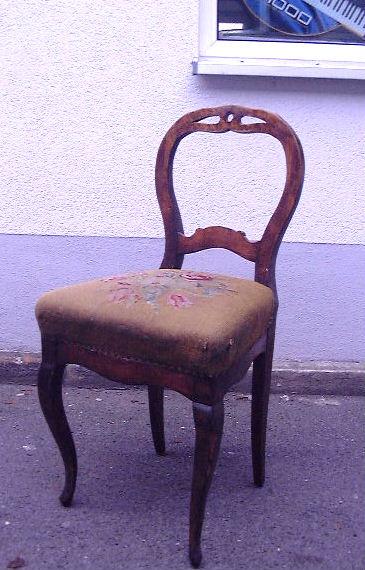 stuhl birke 4 stk 1870. Black Bedroom Furniture Sets. Home Design Ideas