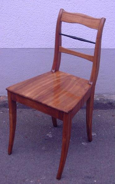 stuhl kirschbaum 1820. Black Bedroom Furniture Sets. Home Design Ideas