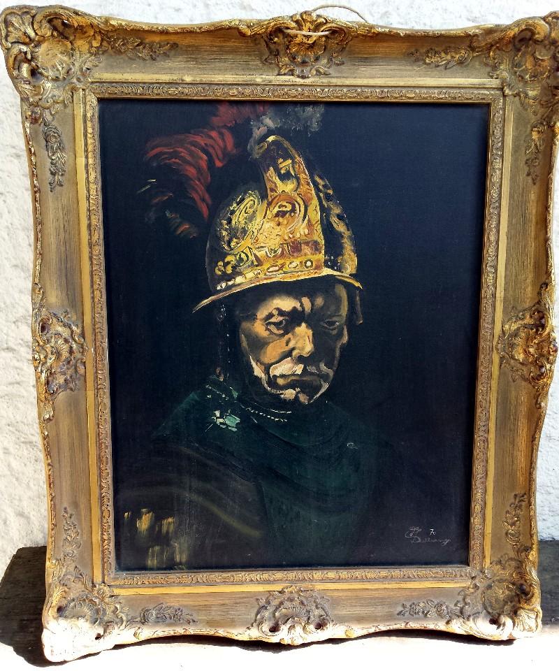 244 Mann Mit Goldhelm Rembrandt